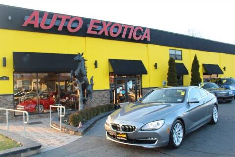 2014 BMW 6 Series for sale at Auto Exotica in Red Bank NJ