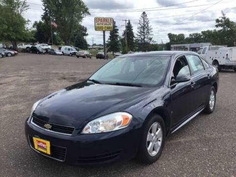 2009 Chevrolet Impala for sale at Sparkle Auto Sales in Maplewood MN