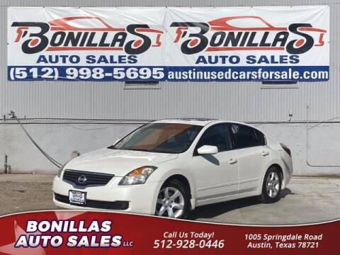 2009 Nissan Altima for sale at Bonillas Auto Sales in Austin TX