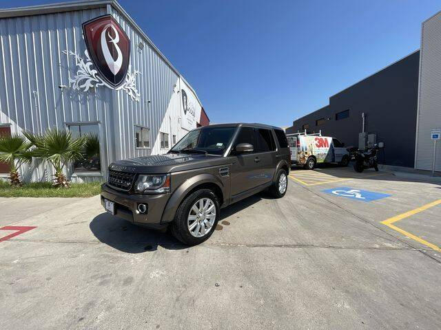 2014 Land Rover LR4 for sale at Barrett Auto Gallery in San Juan TX