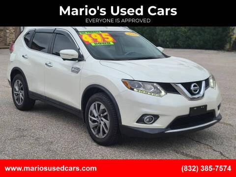 2015 Nissan Rogue for sale at Mario's Used Cars - Pasadena Location in Pasadena TX