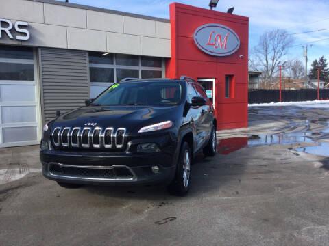 2014 Jeep Cherokee for sale at Legend Motors of Detroit in Detroit MI