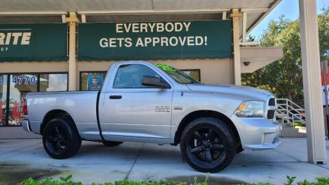 2013 RAM Ram Pickup 1500 for sale at Dunn-Rite Auto Group in Longwood FL