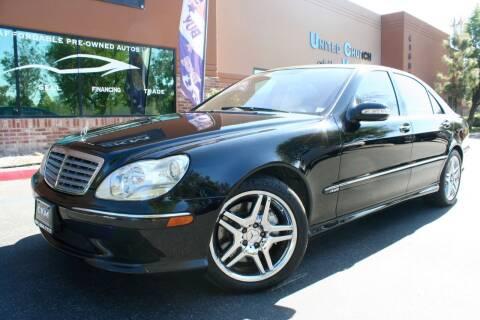 2005 Mercedes-Benz S-Class for sale at CK Motors in Murrieta CA