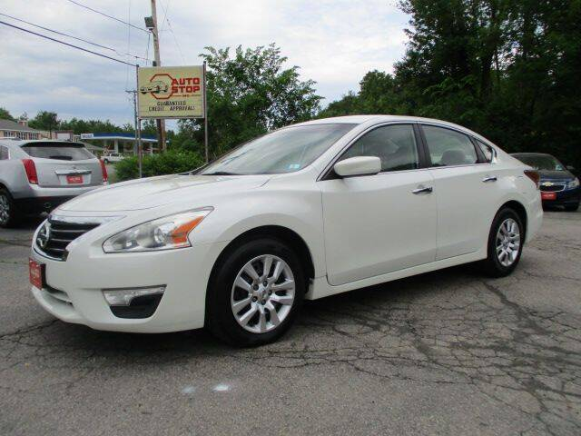 2014 Nissan Altima for sale at AUTO STOP INC. in Pelham NH