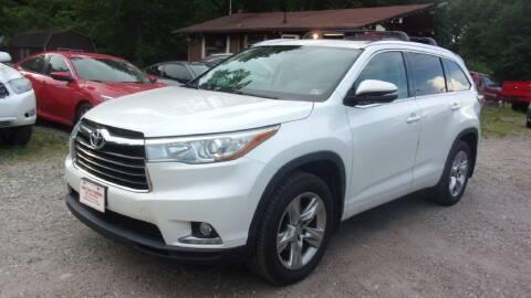 2015 Toyota Highlander for sale at Select Cars Of Thornburg in Fredericksburg VA