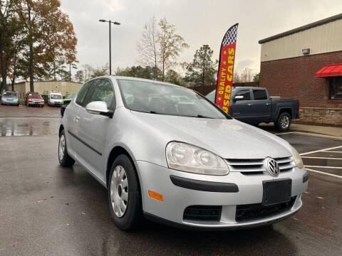 2009 Volkswagen Rabbit for sale at JV Motors NC LLC in Raleigh NC