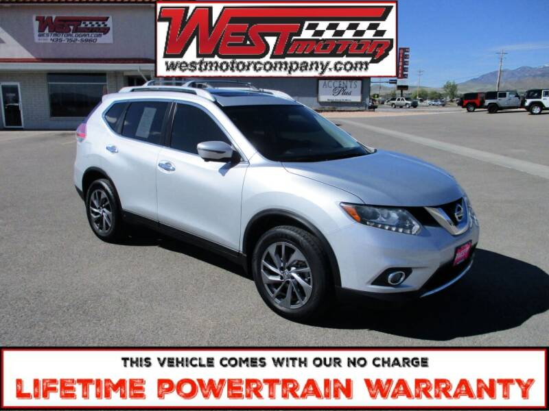 2016 Nissan Rogue for sale at West Motor Company in Hyde Park UT