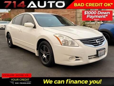 2012 Nissan Altima for sale at 714 Auto in Orange CA