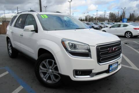 2013 GMC Acadia for sale at Choice Auto & Truck in Sacramento CA