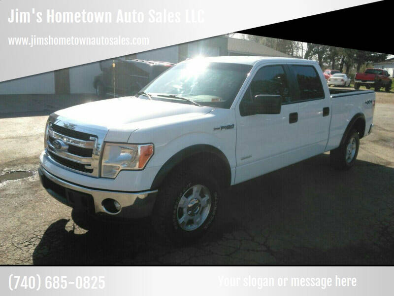 2014 Ford F-150 for sale at Jim's Hometown Auto Sales LLC in Byesville OH