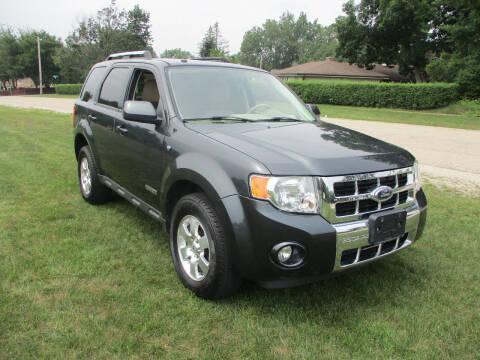 2008 Ford Escape for sale at Triangle Auto Sales in Elgin IL