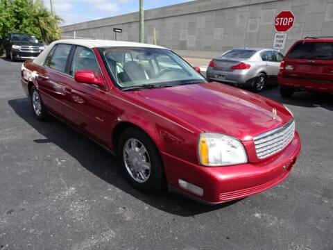 2003 Cadillac DeVille for sale at DONNY MILLS AUTO SALES in Largo FL