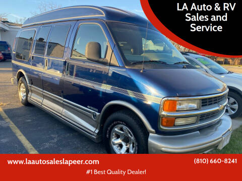 2002 Chevrolet Express Cargo for sale at LA Auto & RV Sales and Service in Lapeer MI