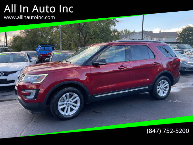 2017 Ford Explorer for sale at All In Auto Inc in Palatine IL