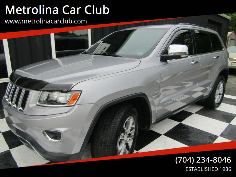 2014 Jeep Grand Cherokee for sale at Metrolina Car Club in Matthews NC