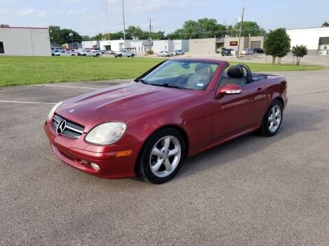 2003 Mercedes-Benz SLK for sale at Image Auto Sales in Dallas TX