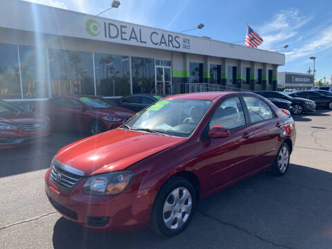2009 Kia Spectra for sale at Ideal Cars East Main in Mesa AZ