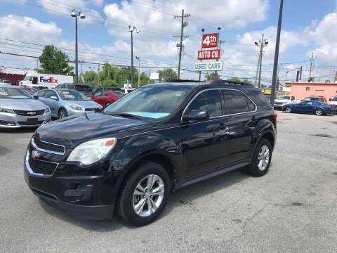 2012 Chevrolet Equinox for sale at 4th Street Auto in Louisville KY