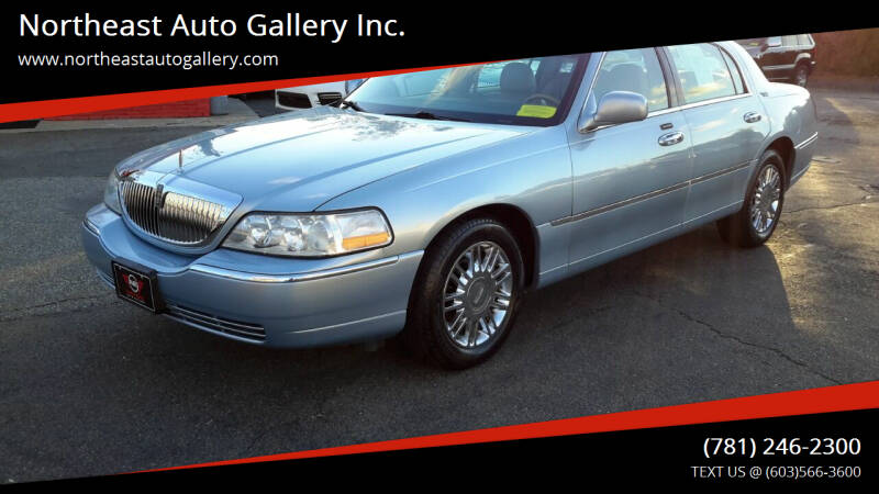 2006 Lincoln Town Car for sale at Northeast Auto Gallery Inc. in Wakefield Ma MA