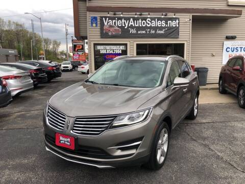 2017 Lincoln MKC for sale at Variety Auto Sales in Worcester MA