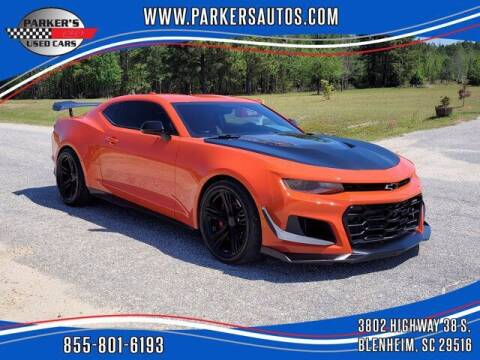 2021 Chevrolet Camaro for sale at Parker's Used Cars in Blenheim SC