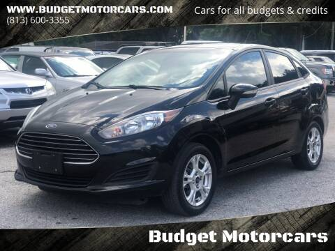 2015 Ford Fiesta for sale at Budget Motorcars in Tampa FL