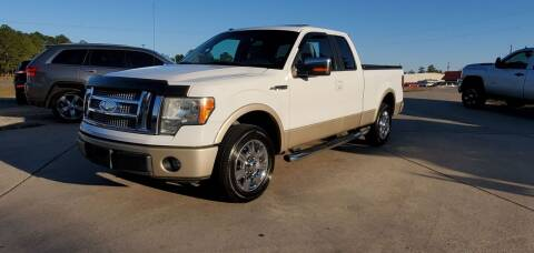 2009 Ford F-150 for sale at WHOLESALE AUTO GROUP in Mobile AL