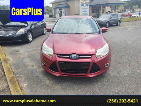 2014 Ford Focus for sale at CarsPlus in Scottsboro AL