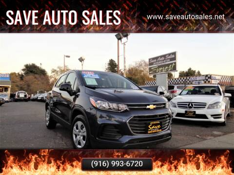 2018 Chevrolet Trax for sale at Save Auto Sales in Sacramento CA