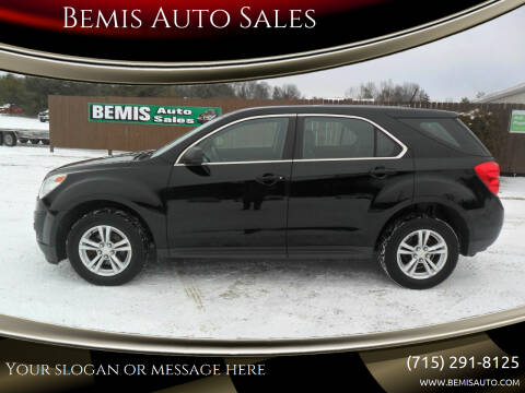 2013 Chevrolet Equinox for sale at Bemis Auto Sales in Crivitz WI
