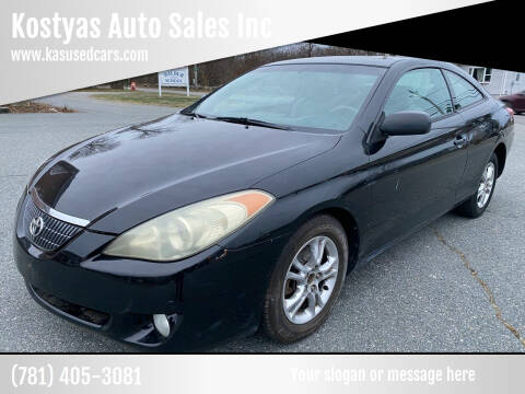 2005 Toyota Camry Solara for sale at Kostyas Auto Sales Inc in Swansea MA