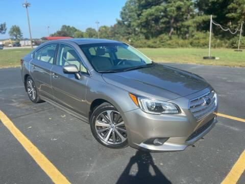 2016 Subaru Legacy for sale at D3 Auto Sales in Des Arc AR