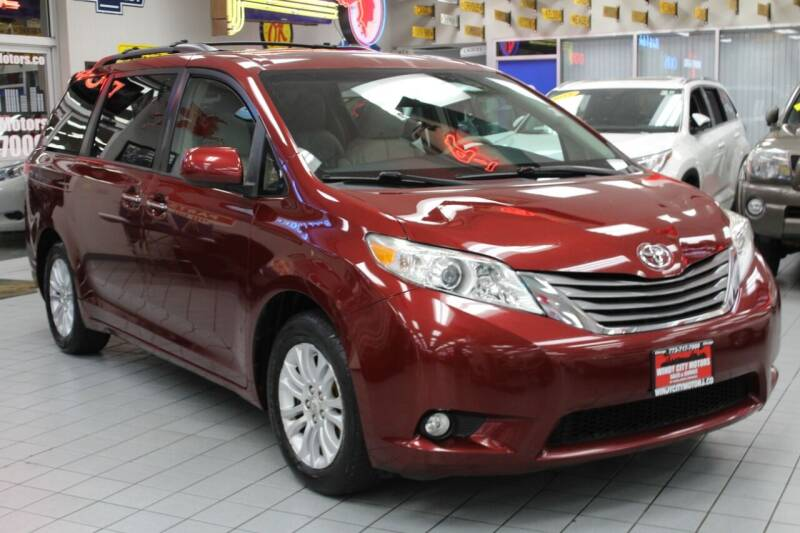 2011 Toyota Sienna for sale at Windy City Motors in Chicago IL