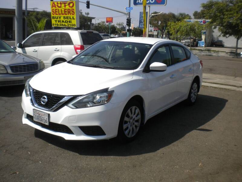 2016 Nissan Sentra for sale at AUTO SELLERS INC in San Diego CA