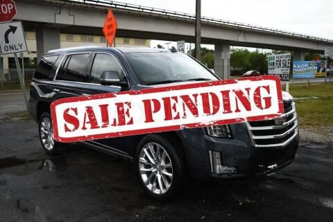 2019 Cadillac Escalade for sale at STS Automotive - Miami, FL in Miami FL