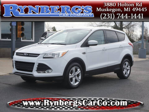 2016 Ford Escape for sale at Rynbergs Car Co in Muskegon MI