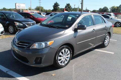 2013 Toyota Corolla for sale at Drive Now Auto Sales in Norfolk VA