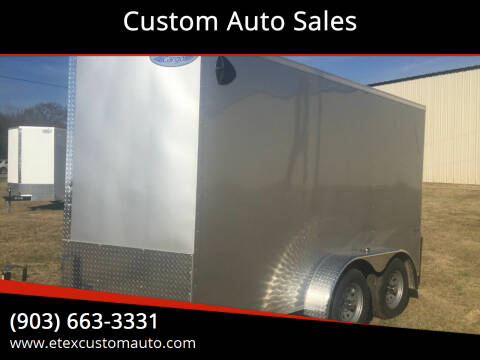 2021 Continental Cargo 7x12 Tandem Axle for sale at Custom Auto Sales - TRAILERS in Longview TX