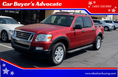 2008 Ford Explorer Sport Trac for sale at Car Buyer's Advocate in Phoenix AZ