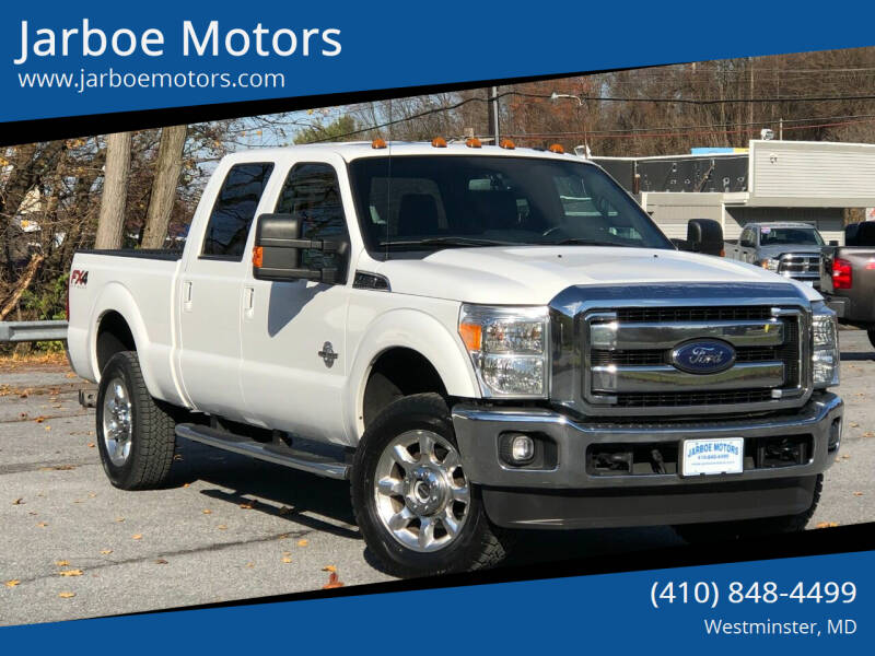 2014 Ford F-350 Super Duty for sale at Jarboe Motors in Westminster MD
