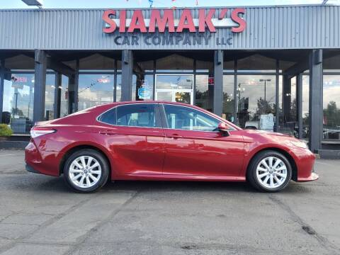 2020 Toyota Camry for sale at Siamak's Car Company llc in Salem OR