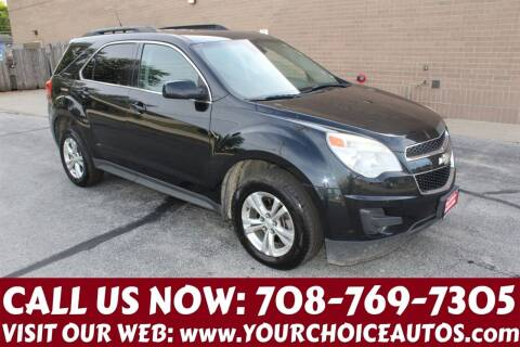 2012 Chevrolet Equinox for sale at Your Choice Autos in Posen IL