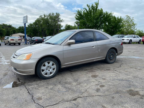 2002 Honda Civic for sale at Dave-O Motor Co. in Haltom City TX