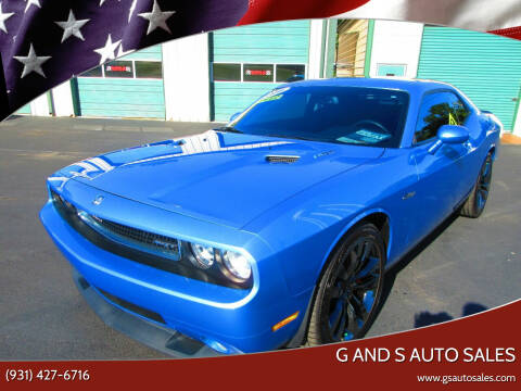 2010 Dodge Challenger for sale at G and S Auto Sales in Ardmore TN