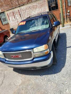 2002 GMC Yukon for sale at Lincoln County Automotive in Fayetteville TN