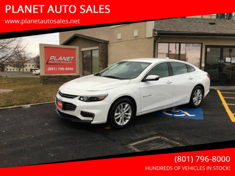 2018 Chevrolet Malibu for sale at PLANET AUTO SALES in Lindon UT