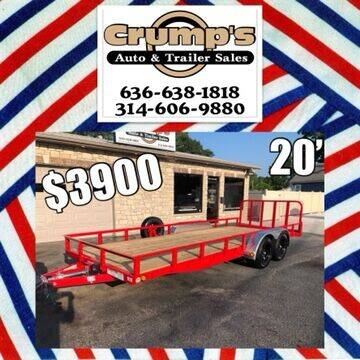 2021 PJ  Utility for sale at CRUMP'S AUTO & TRAILER SALES in Crystal City MO