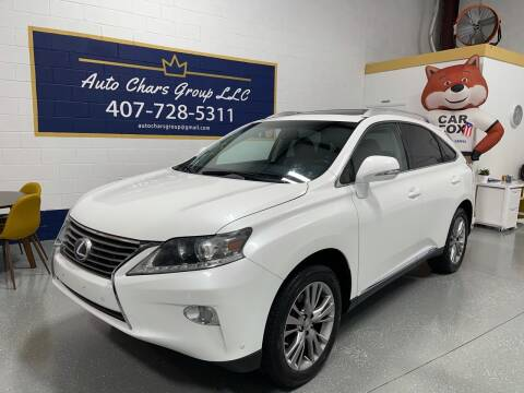 2014 Lexus RX 450h for sale at Auto Chars Group LLC in Orlando FL