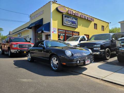 2002 Ford Thunderbird for sale at Bel Air Auto Sales in Milford CT